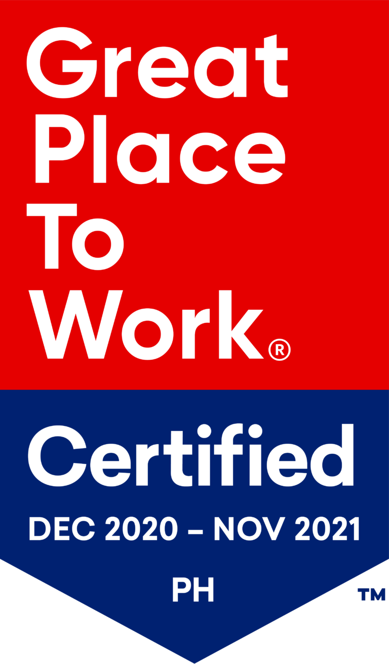 Great Place to Work Certified Philippines